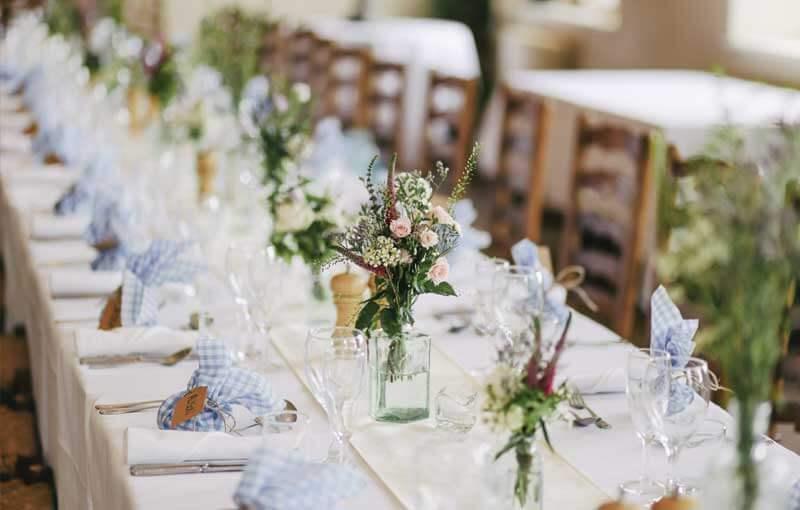Centros de flores para bodas y fiestas